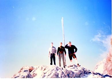 Ausflug während einer Schulungswoche in der Steiermark 1991