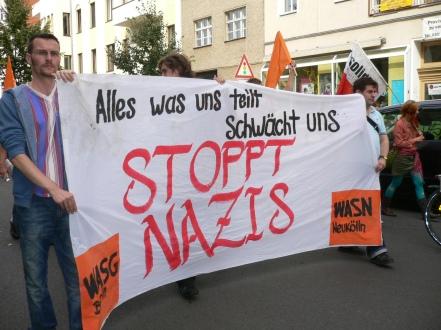 Demo 2006 in Berlin-Schöneweide: Gegen Rassismus und Kapitalismus