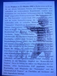 Antifa Flugblatt Oktober 1995