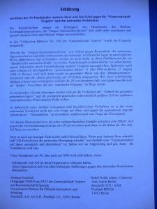Erklärung zur JN 1996