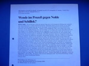 Rückendeckung - Christian Wendt/BBZ-Redaktion, 8. Nov. 1997